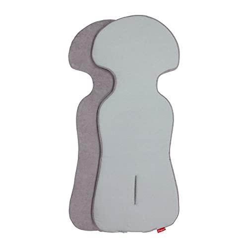 ByBoom Basics Baby Sitzauflage, Sitzeinlage 77x32 cm, Baumwoll- und Frotteeseite, für Babyschale,...