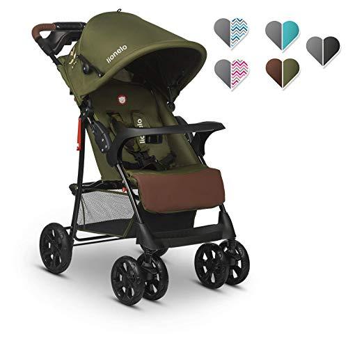 Lionelo Emma Plus Kinderwagen Kindersportwagen leicht modern klein Buggy mit Liegeposition...