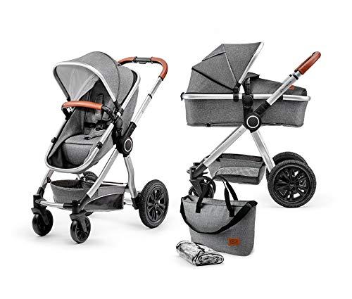 Kinderkraft Kinderwagen 2 in 1 VEO, Kinderwagenset, Kombikinderwagen, Sportwagen, Buggy und...