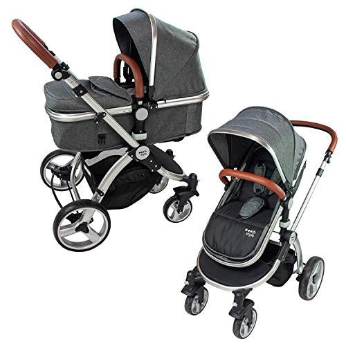ib styleSUPREME 2 in 1 Kinderwagen | Buggy | Zusammenklappbar | Sitzrichtung verstellbar | 0-15kg...
