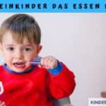 Wie Kleinkinder das Essen lernen