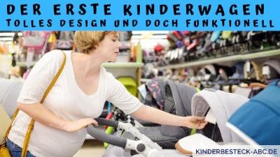 Der erste Kinderwagen Tolles Design und doch funktionell